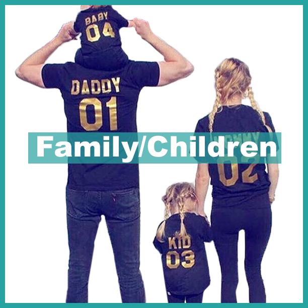 Family Customized T-Shirts